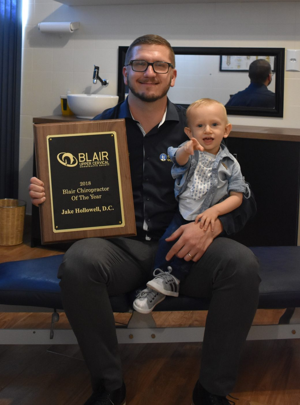 Dr Jake Hollowell Chiropractor of the Year